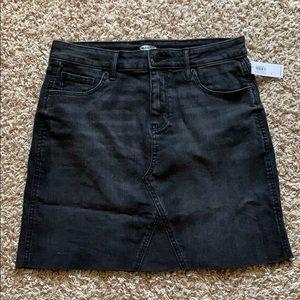 New Old Navy Black Skirt